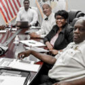 """The Monroe Foundation Discusses Launch of R3 Project """"Maywood Planning Table"""" with new Maywood Mayor Nathaniel Booker"""